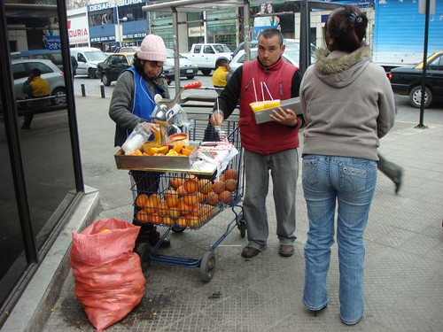 The Juice Vendors. Santiago, Chile.