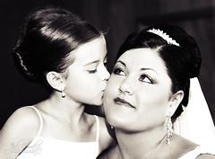 flower girl kiss (jaki good miller) Tags: wedding portrait flower bride kiss flowergirl jakigood tender loveset weddingsset