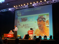 Nadella shows current popular content in search: Michael Phelps