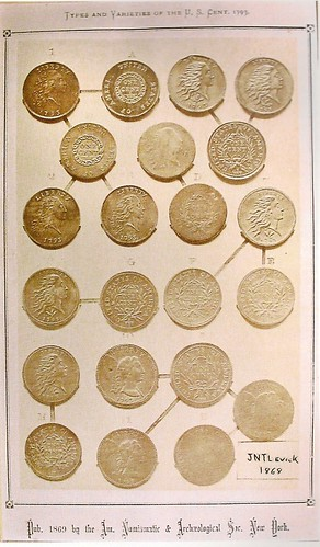 AJN Levick Plate 1793 Cents