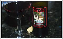 Sin Zin (swanksalot) Tags: 2005 bottle wine pony sin split piccolo zinfandel alexandervalley snipe 375ml swanksalot sethanderson quarterbottle