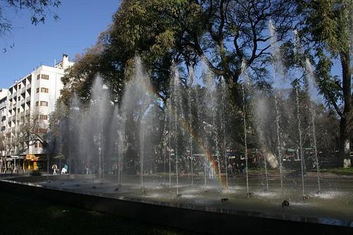 Plaza de la Independencia, Mendoza - Argentina