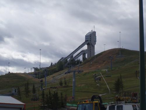 Ski Jump at Canada Olympic Park