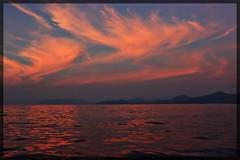 Sunset returning to Atapupu
