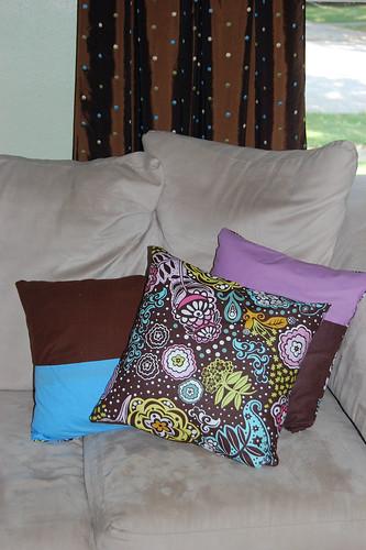 Chocolate Lollipop Pillows