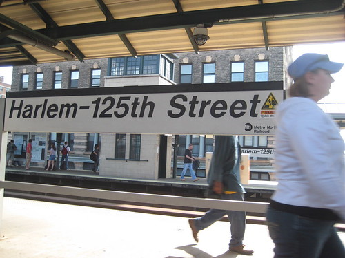 Harlem 125th Street Metro North Railroad