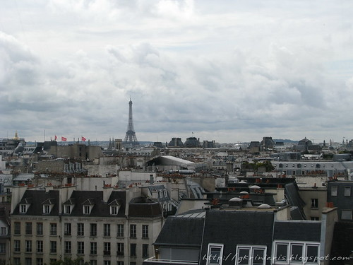 View from Centre Pompidou