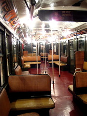 Older Carriages with padded seats