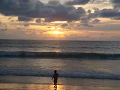 Top 5: Playing on Patong Beach (crystoforo) Tags: ocean sunset playing beach thailand island seaside kid sony cybershot tsunami digitalcamera phuket sonycybershot andaman patongbeach top5 top36 megapixels top50 topfavorite topphotos