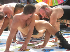 I want to play twister (fuzzyjay) Tags: folsom twister hotness justinmorgan