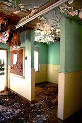 Debris (taberandrew) Tags: school usa abandoned virginia decay va elementary stonycreek sussexcounty
