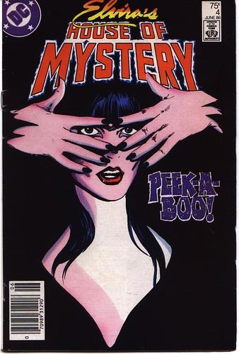 Elvira's House of Mystery #4 cover