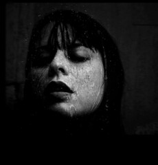 In a Silent Way (Michelle Brea) Tags: door art me window wet rain night photography moments dominican photographer artistic dominicanrepublic dr dominicana freckles fotografia capture pouring feelings 2b portrair artista santodomingo palabra aod  michellebrea photodistorzija4