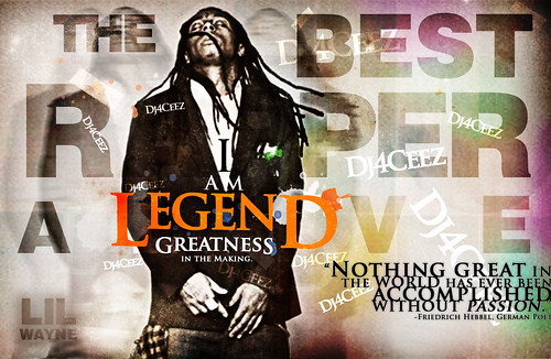 Lil Wayne - I Am Legend Wallpaper v.2 by bhaines3