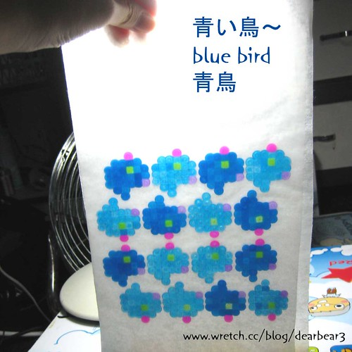 blue bird by you.