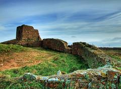 Grosnez Castle (Richard Boak (stuck on the rock)) Tags: castle heritage ancient ruins fuji jersey hdr channelislands 3xp photomatix 6500fd 6000fd qualitypixels