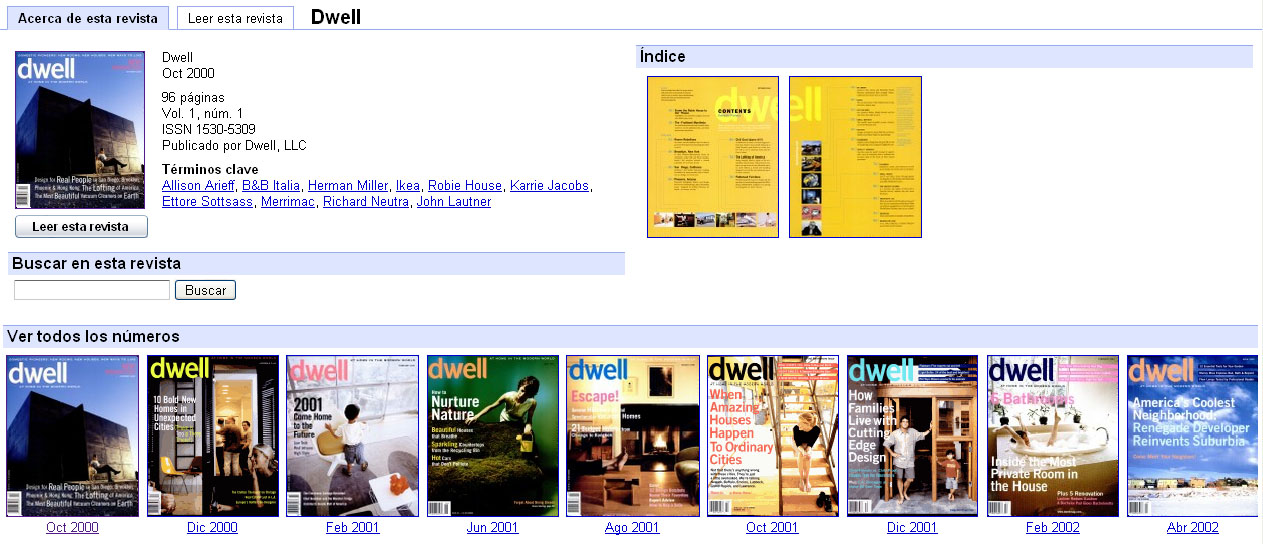 Dwell in google books