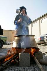 یک زن اشنویه ای در حال پخت آش دوغ محلی (ata zare) Tags: ای در حال زن یک آش محلی دوغ اشنویه پخت