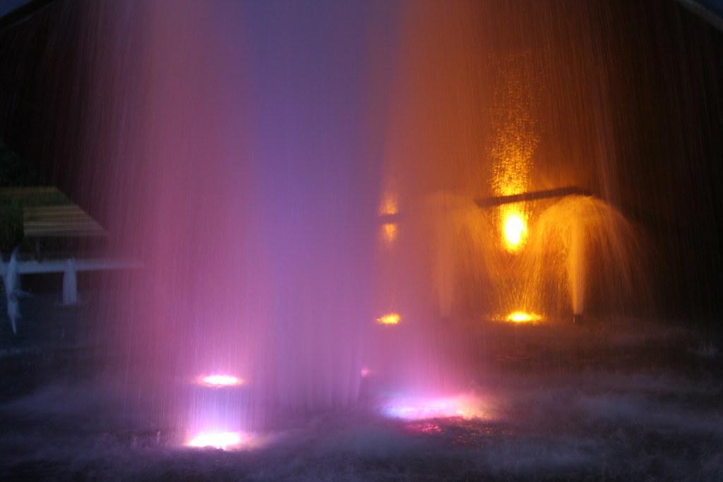 Spectacle eau et lumières
