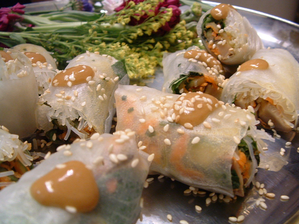 Hands On Gourmet Vietnamese Spring Rolls Recipe