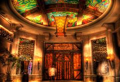 The gates of Atlantis (momentaryawe.com) Tags: dubai gates uae emirates luxury hdr luxurious corridors atlantishotel