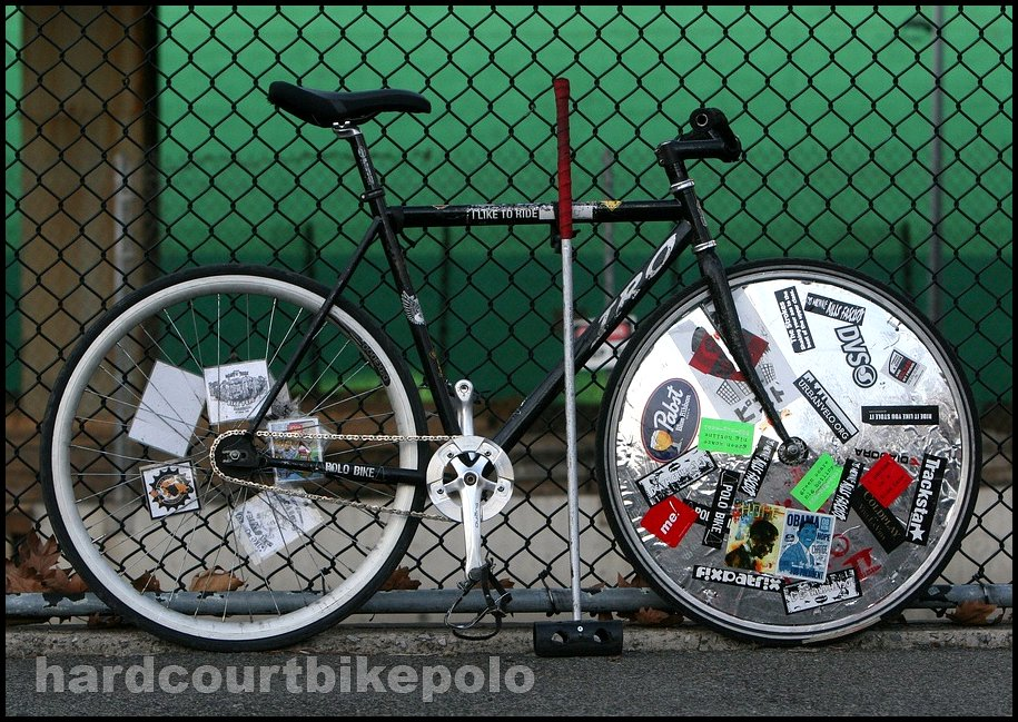 Ken hardcourt polo bike full