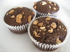 Maple Sugar Cashew Chocolate Cupcakes