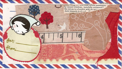 decorated air mail envelopes