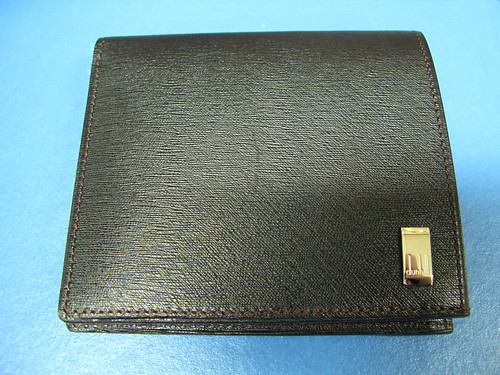 dunhill SIDECAR VERTICAL BILLFOLD WITH 8CC POCKETS