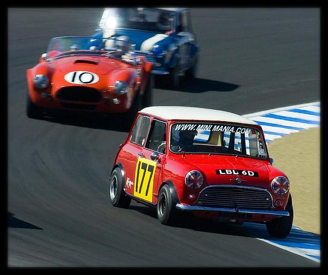 classic race vintage mini cooper minicooper