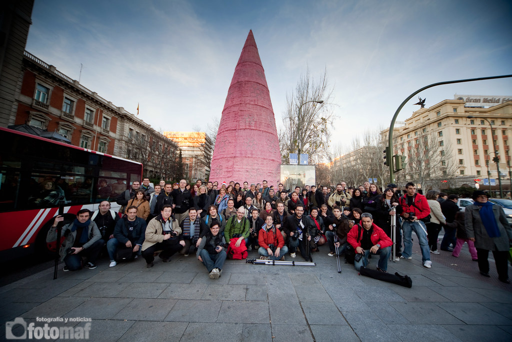 Photowalk Madrid OjoDigital Foto de Grupo