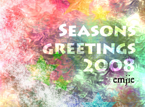 Seasons Greetings 2008