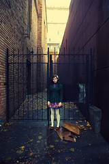 (murakami.kenta) Tags: trip fashion portland alley gate doll adorable soaked explored alleygate olivabee