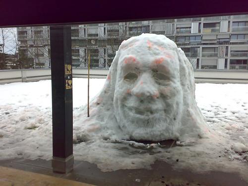 mike shiva snowman