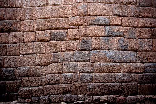 Perfect Inca Stone Wall