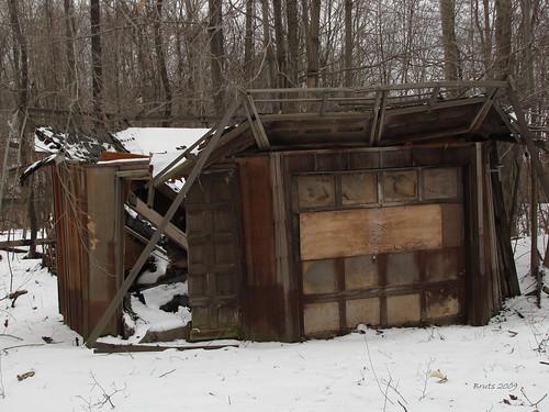 Abandoned Octagon House