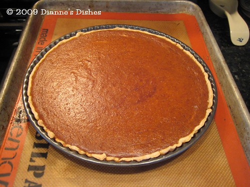 Pumpkin Pie Tart