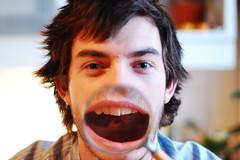 Linus Ekenstam (Jan Charles Linus Ekenstam) Tags: portrait face magnifyingglass laugh linusekenstam wearesuperfamous