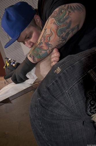 Nicky Tattooing 1-6-09 13