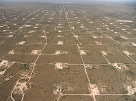 Permian oil field in Odessa, Texas