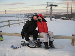 Andreas & Nina (kristoffintosh) Tags: sweden newyears kristoffer slen snowboardning