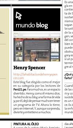 La Habitacion de Henry Spencer Mundo Blog Peru 21