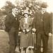 Charlie Bain, Janet Duncan & Granda Charles Duncan