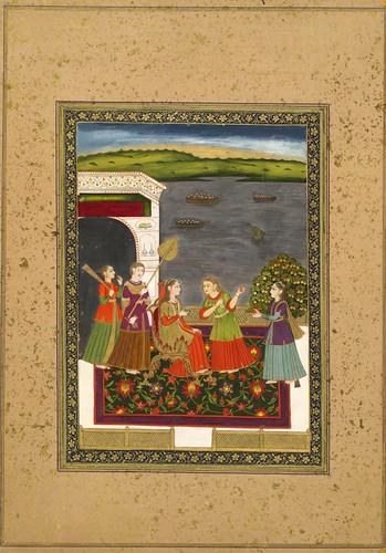 025- Pintura india siglos XVIII- XIX
