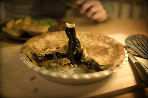Venison, Chilli and Chocolate Pie