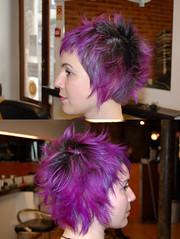 purple hair jezz (wip-hairport) Tags: color hair purple lisbon wip stylist jezz hairport