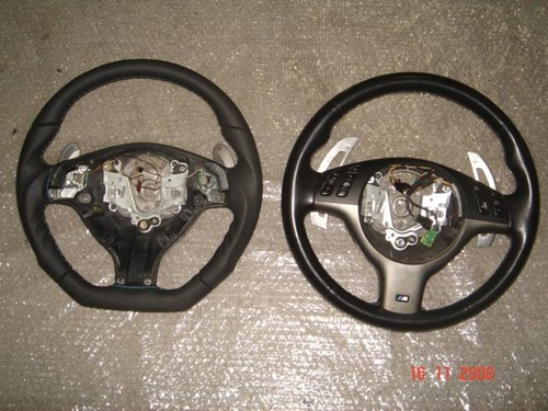 0-60 Vs Oem M3 Steering wheel