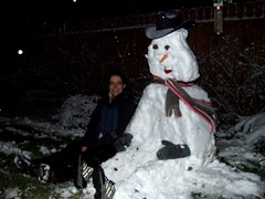 Me and my snowman