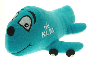 KLM - Royal Dutch Airlines Baby Gear Collection Plush Knuffel Cartoonplane