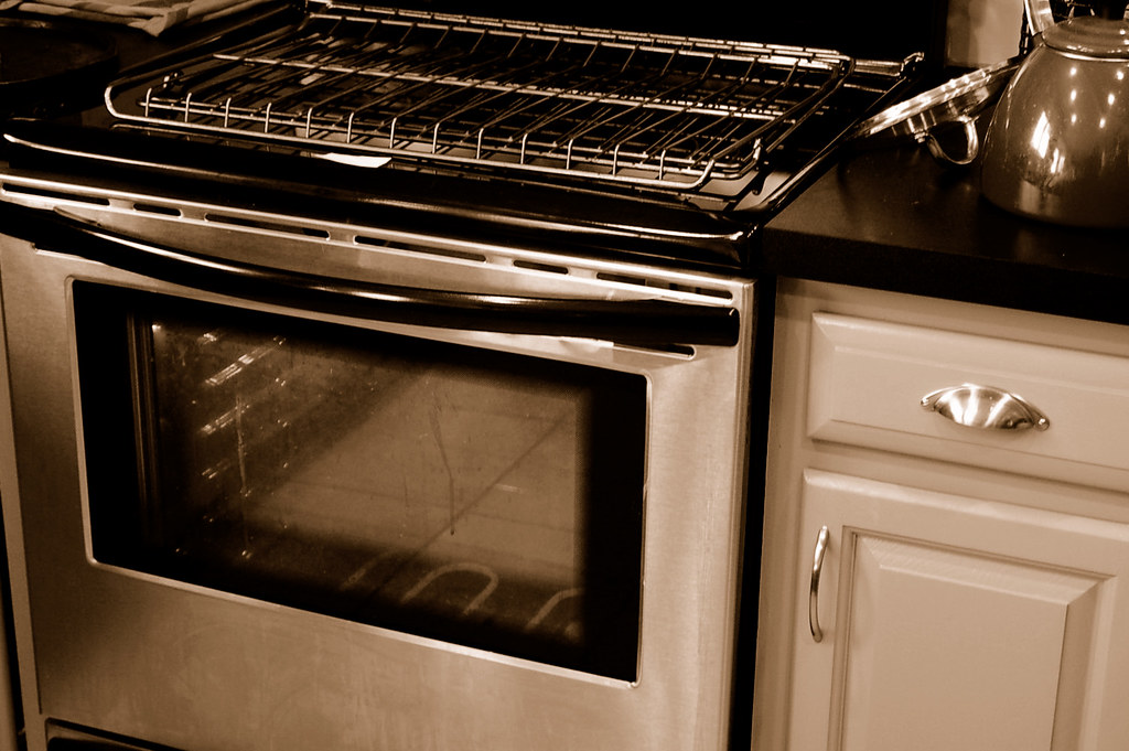 real life part 1: oven cleaning